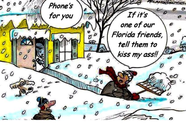 Funny Snow Cartoon Jan 2016
