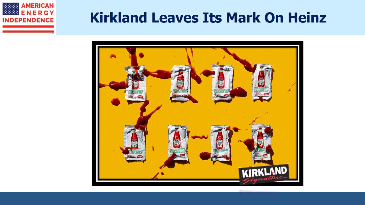 Kirkland leaves its mark on Heinz